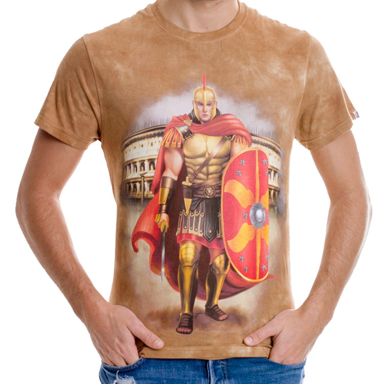 La Camiseta Veni, vidi, vici de hombretiene un dibujo original de un verdadero soldado romano del antiguo y glorioso Imperio Romano.